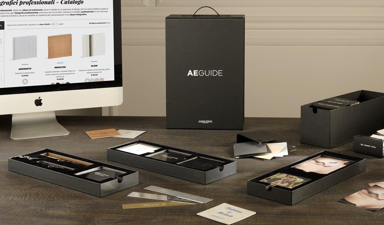 AE Guide è lo strumento innovativo pensato per migliorare e incrementare le vendite del fotografo professionale