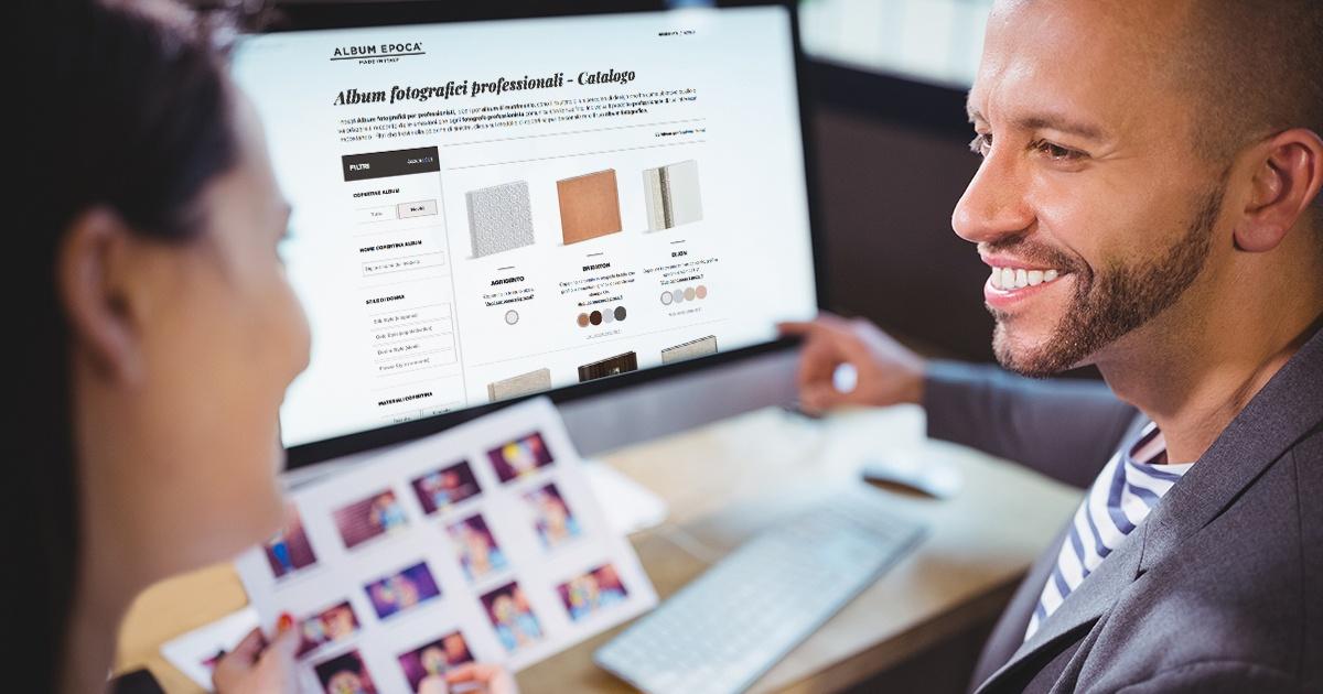 Crea davanti agli occhi dei tuoi clienti l'Album dei loro sogni: una vera magia per il tuo business