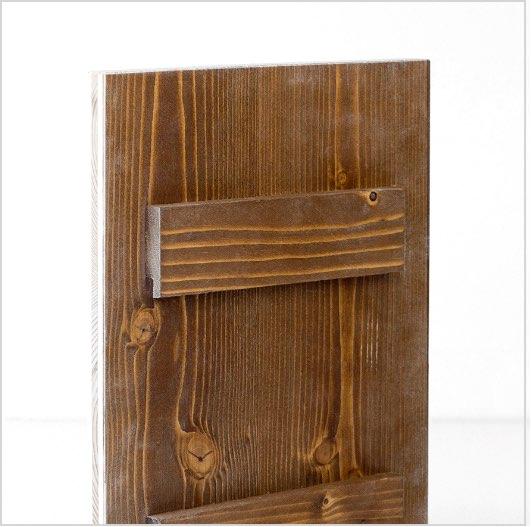 Quadro con due listelli in legno0A