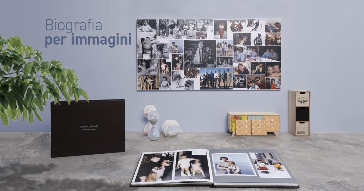 Biografie per immagini: vecchie fotografie per raccontare una storia