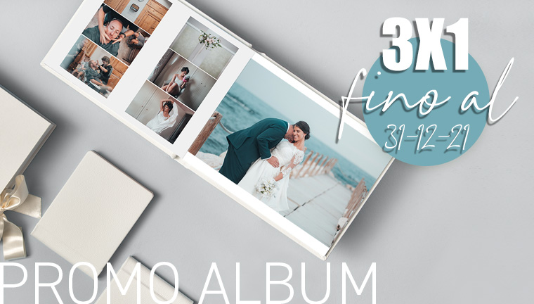 3x1 Album - promo valida fino al 31/12/2021