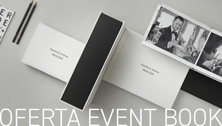 Un event book de regalo, siempre - oferta válida hasta el 31/12/21