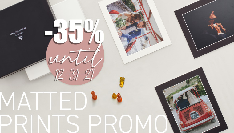 35% on Matted Prints already applied in the price list 2021
