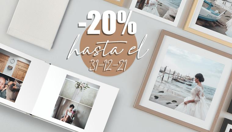 20% en 1 Event Book + 1 Wall&Table Decor - oferta válida hasta el 31/12/21